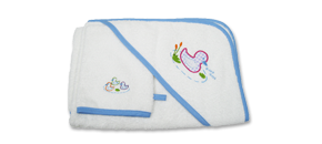 Quack Quack Towel and Mitt Set