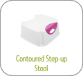 Contoured Step-up Stool