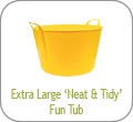 Extra Large 'Neat and Tidy' Fun Tub