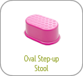 Oval Step-up Stool