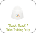 'Quack, Quack' Toilet Training Potty